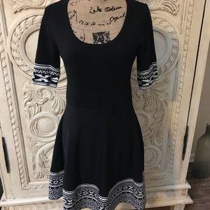 Nina Leonard Knit Sweater Dress
